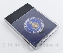 Kmar Marechaussee metalen Coin in doosje - Als het erop aankomt - 13 x 9 cm - origineel
