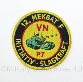 Zweedse leger 12 Mekbat F VN P7 embleem - origineel
