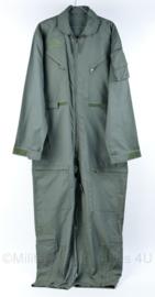 KLU pilotenoveral overall - groen - maat XL - origineel