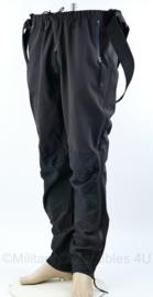 Nieuw gemaakte softshell bretelbroek - zwart - Maat XL - nieuw - origineel