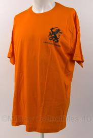 KL Landmacht oranje shirt Landmachtdagen - maat XL - origineel