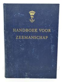 Koninklijke Marine Handboek voor Zeemanschap 1961 - origineel