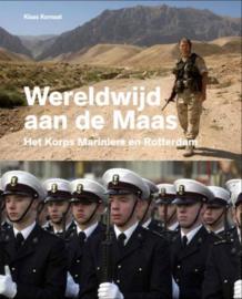 Boek 'Wereldwijd aan de Maas' - het Korps Mariniers en Rotterdam - nieuw in verpakking - origineel