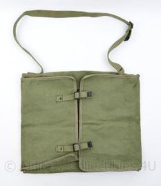 Britse leger tool pouch groen Webbing - 32 x 41 cm - origineel