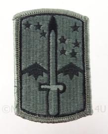 US Army ACU Camo eenheid embleem met klittenband - origineel
