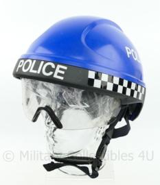 Britse Politie blauwe Rescue helm - model ER1 - maat 53-63  - lichte beschadiging - origineel