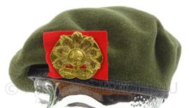 KL Landmacht baret Oranje Gelderland - Hassing BV 1989 - zeldzame maat 60 - origineel