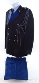 KMAR Koninklijke Marechaussee DT uniform wachtmeester - met nestel en rangen - maat 53 - origineel