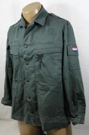 KL uniform jas Basis jas modern groen burgerpersoneel - meerdere maten - origineel