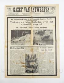 Krant Gazet van Antwerpen 31 augustus en 1 september 1935 - origineel