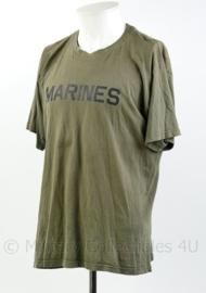Nederlandse Korps Mariniers en USMC Marines shirt - maat M - origineel