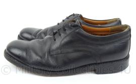 """KL DT nette schoenen """"DEFENSIE"""" Lederen zool, zwart  - zwaarder gebruikt - maat 42,5 tm. 44,5 - origineel"""
