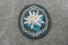 Gebirgsjäger edelweiss BEVO - kant en klaar