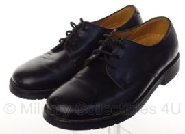 KL Nederlandse leger DT schoenen zwart - licht gedragen - merk van Lier - maat 250B = 39B - origineel