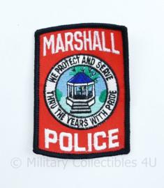 US Marshall Police Patch - 9,5 x 6,5 cm - origineel