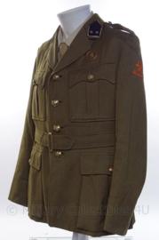 """KL Koninklijke Landmacht Officiers uniform jasje """"juridische dienst"""" - Rang Eerste Luitenant - """"vroeg model"""" jaren 60 - maat 52 1/4 - origineel"""
