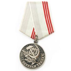 Russische medaille veteraan van de Arbeid - origineel