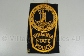 Virginia State Police patch - ongeknipt - origineel