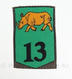 """KL eenheid embleem """"13de gemechaniseerde brigade"""" - 1963/2000 - origineel"""