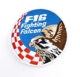 Deense Luchtmacht embleem F16 Fighting Falcon  - diameter 10 cm - origineel