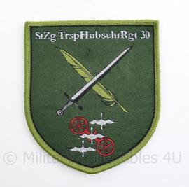 Bundeswehr Heeresfliegerregiment StZg TrsphubschrRgt 30 - Duitse staf eenheid van Transport Helicopter Regiment 30 - 9 x 8 cm   - origineel