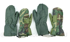 Korps Mariniers winter handschoenen met binnenhandschoenen groen - NIEUW - maat Medium - origineel
