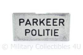 Parkeer politie epaulet insigne metaal -  5 x 2,5 cm - origineel