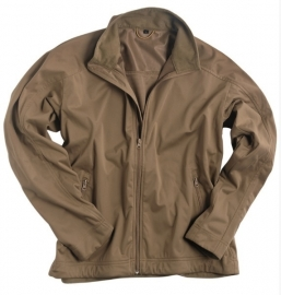 Softshell jack trilaminaat Light Weight - Coyote