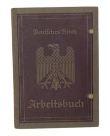 Arbeitsbuch 4 juni 1936 - Hermann Grofs - origineel WO2 Duits