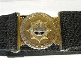Korps Rijkspolitie te water koppel - blauw met goudkleurig slot - 110 cm - origineel