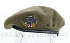 Servische officiers baret met insigne 1998 - maat 58 - origineel