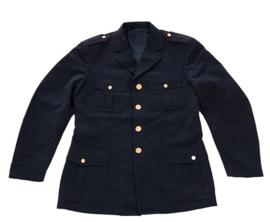 Donkerblauwe Italiaans politie uniform jas Polizia di Stato - meerdere maten - origineel