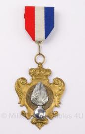 KMAR onderscheidings medaille - 2de prijs 1ste divisie KMAR -  origineel