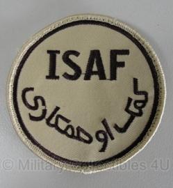 US patch ISAF met velcro - origineel