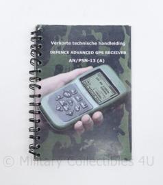 Defensie verkorte technische handleiding Defence advanced GPS receiver  AN PSN 13 A