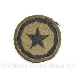 US 9th Theatre Command Support Patch - diameter 5 cm - origineel