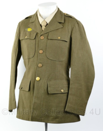 Wo2 US Army Class A jacket 1941 gedateerd - rang Private - size 36R = maat 46- origineel