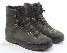KL Koninklijke Landmacht Meindl schoenen M1 - gedragen - origineel KL - maat 295M = 46M