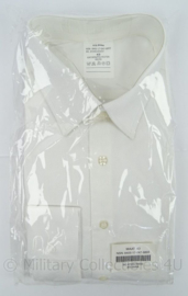 KL Landmacht en KLu Luchtmacht smoking overhemd wit lange mouw - nieuw in verpakking - maat 43 - origineel