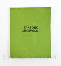 Zakboek GROEPSCDT Infanterie Korps Mariniers - 15,5 x 12,5 x 1 cm - origineel