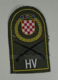 Kroatische HV patch - origineel