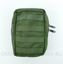 Nederlands leger Profile Equipment MOLLE tas Groen - huidig model- 14x22x6 cm - Nieuw - Origineel