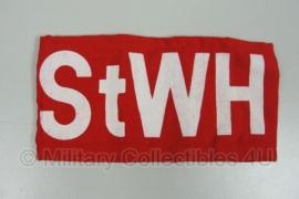 Rode DDR armband - StWH = Stellvertretender Wachhabender - origineel