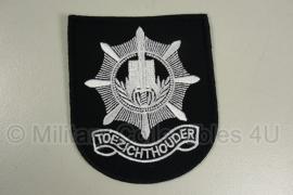 Gemeentepolitie Toezichthouder embleem - 10 x 8,5 cm - origineel