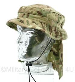 Britse Leger MTP camo tropical bush hat - short brimmed - maat 57 - zeldzaam - origineel