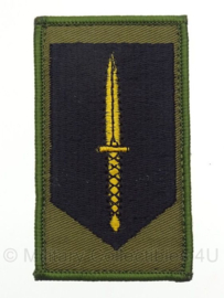 KL Korps Commandotroepen GVT uniform embleem - met klittenband - 8,3 x 5 cm