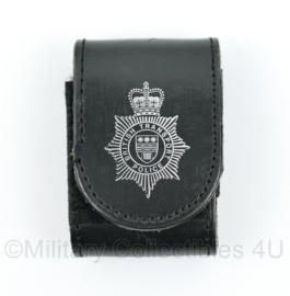 British Transport Police  handboeien houder met logo - 7,5 x 5 x 3 cm - origineel