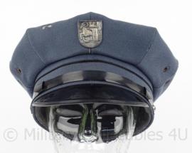 Zwitserse Politie pet - Stadtpolizei Schaffhausen - maat 57 - Maker: Bolz - origineel
