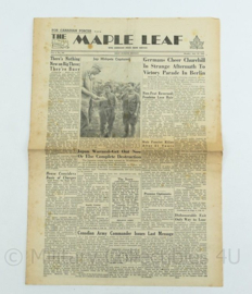 Krant Maple Leaf - 23 July 1945 -  origineel