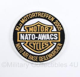 KLu Motortreffen 2005 Motorcycles Nato air base Geilenkirchen embleem - diameter 9 cm - origineel